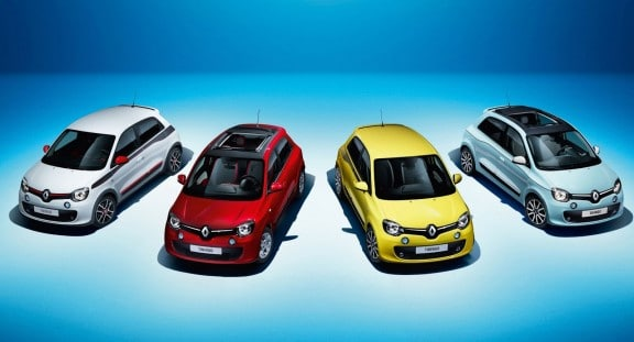 Renault-Twingo-2014 gamme couleurs carrosserie