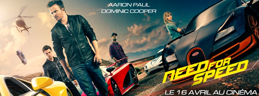 Need For Speed : voici la 4ème bande-annonce du film