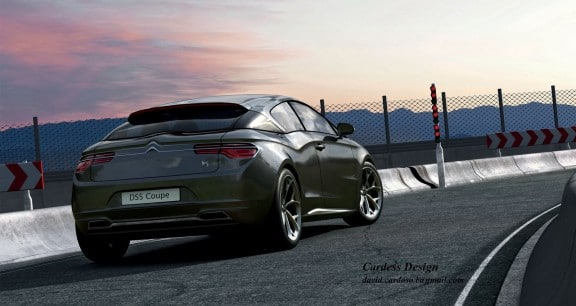 arriere ds5 coupe