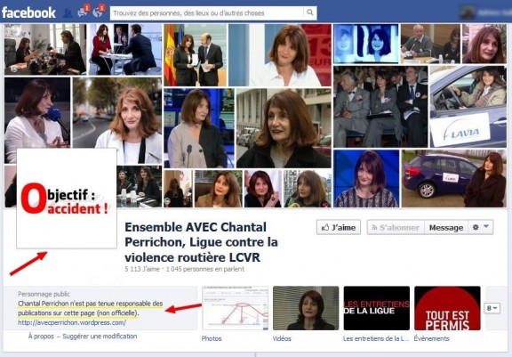changements page facebook lcvr