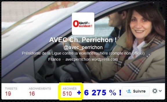 fraude followers twitter perrichon
