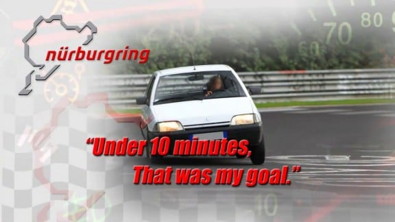video record citroen ax nurburgring