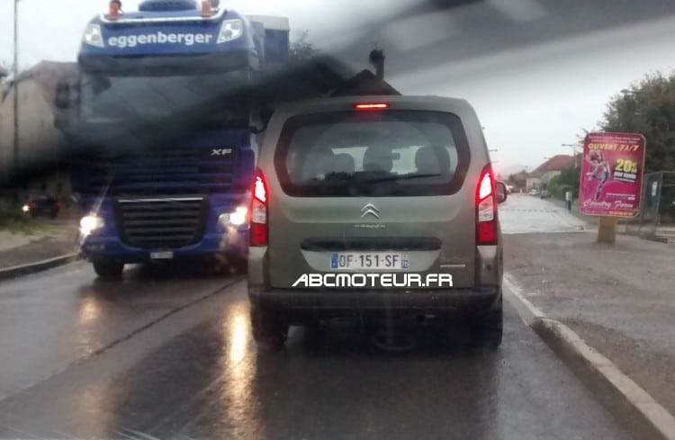 Citroen Berlingo radar mobile mobile DF 151 SF dep 40