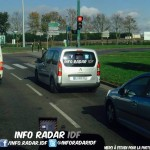 Citroen Berlingo radar mobile mobile DJ 062 FZ dep 75