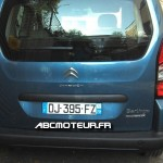 Citroen Berlingo radar mobile mobile DJ 395 FZ dep 28