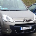 Citroen Berlingo radar mobile mobile DJ 598 FZ dep 45