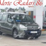 Citroen Berlingo radar mobile mobile df 073 sf dep 86