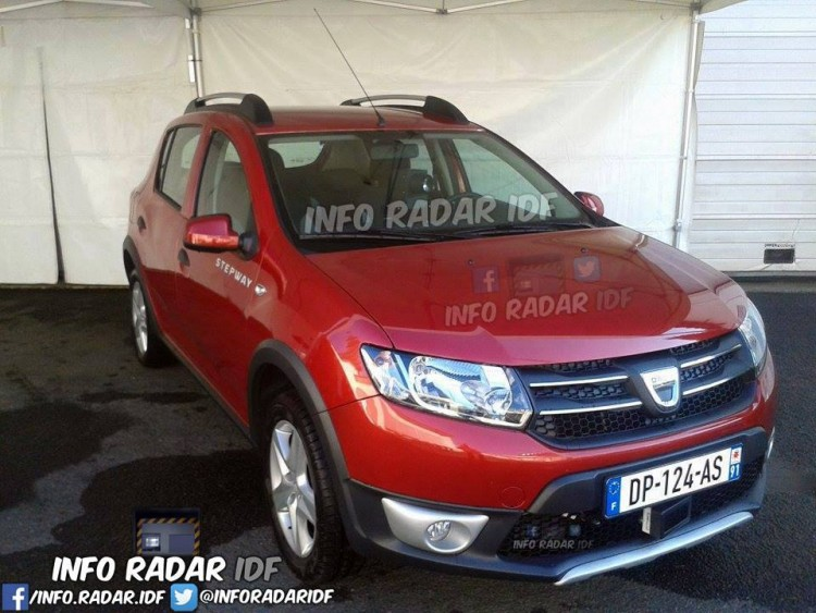 Dacia Sandero radar mobile mobile DP 124 AS dep 91