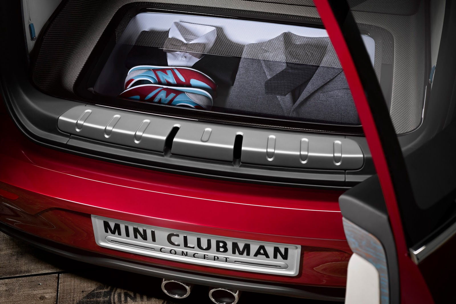 mini clubman concept 2014 elle aura six portes. Black Bedroom Furniture Sets. Home Design Ideas