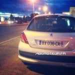 Peugeot 207 radar mobile BX 036 CR dep 34
