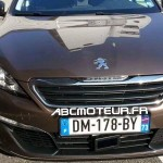 Peugeot 308 radar mobile mobile DM 178 BY dep 73