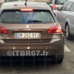 Peugeot 308 radar mobile mobile DM 202 BY dep 67