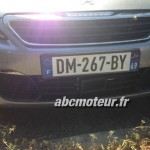 Peugeot 308 radar mobile mobile DM 267 BY dep 69
