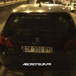 Peugeot 308 radar mobile mobile DM 304 BY dep 93