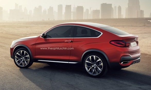 X4 BMW coupe