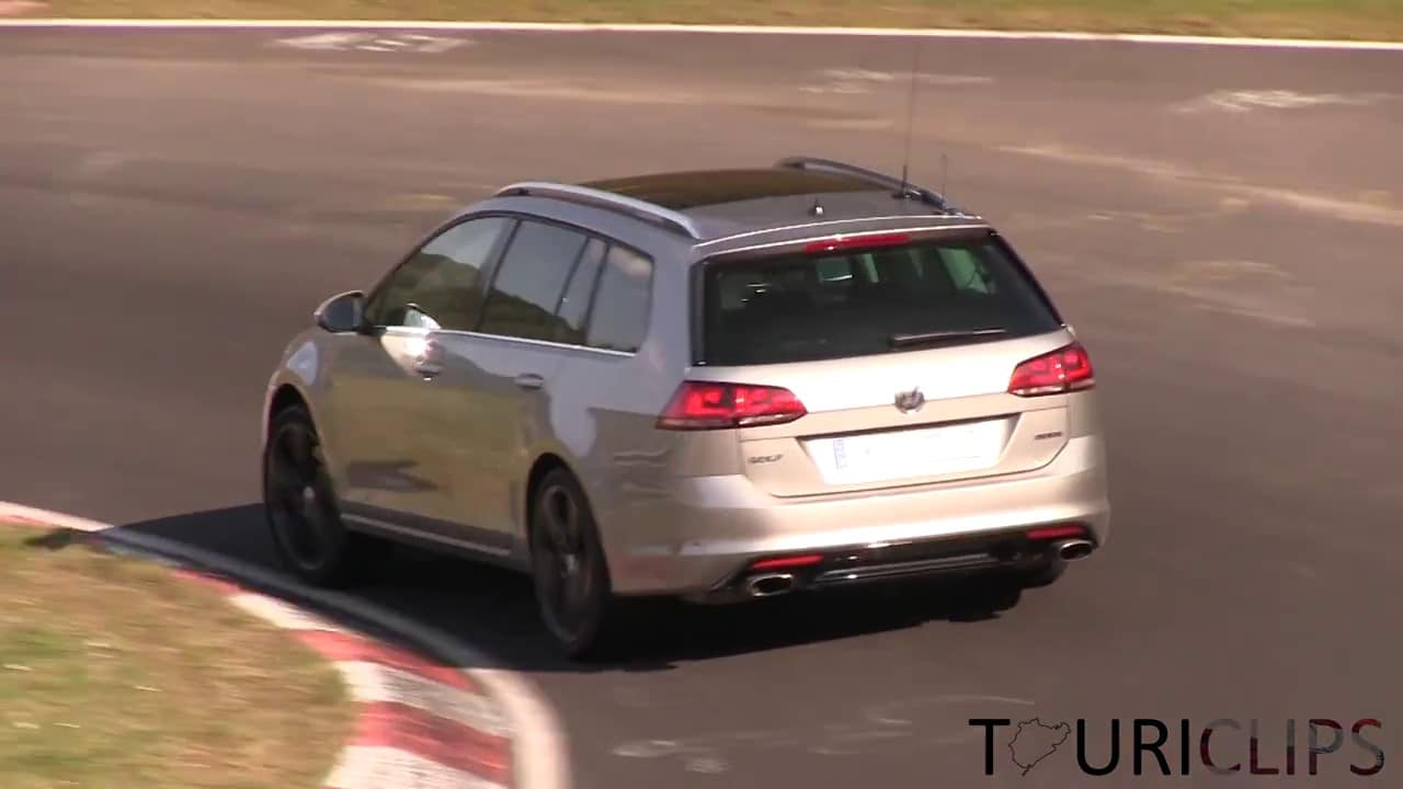 Vidéo : une VW Golf break de 300 ch surprise sur le Ring ?