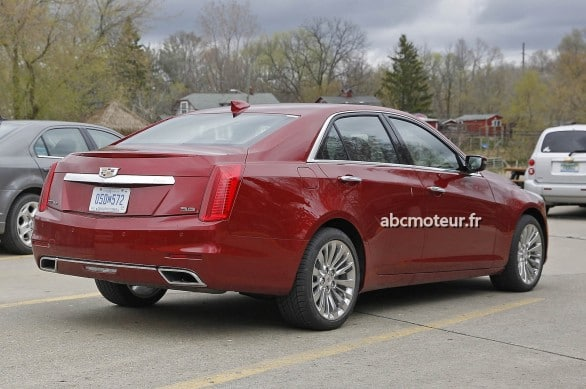 3-4 ar cadillac CTS restylage