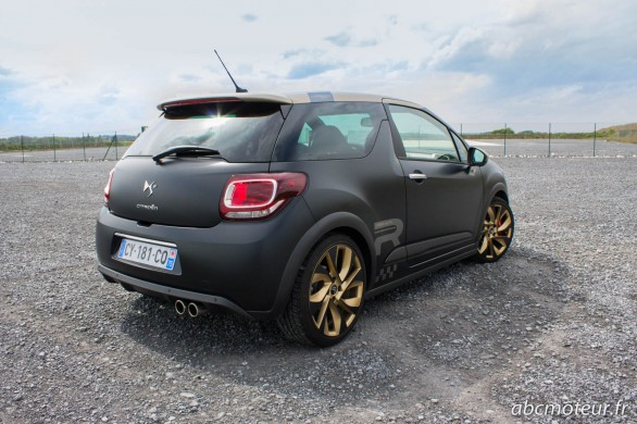 Citroen DS3 R Gold Mat