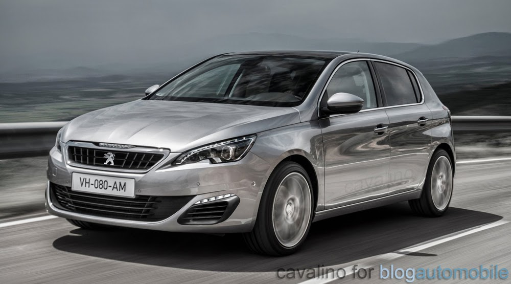 peugeot 308 gt sa pr sence au mondial de l 39 auto confirm e. Black Bedroom Furniture Sets. Home Design Ideas
