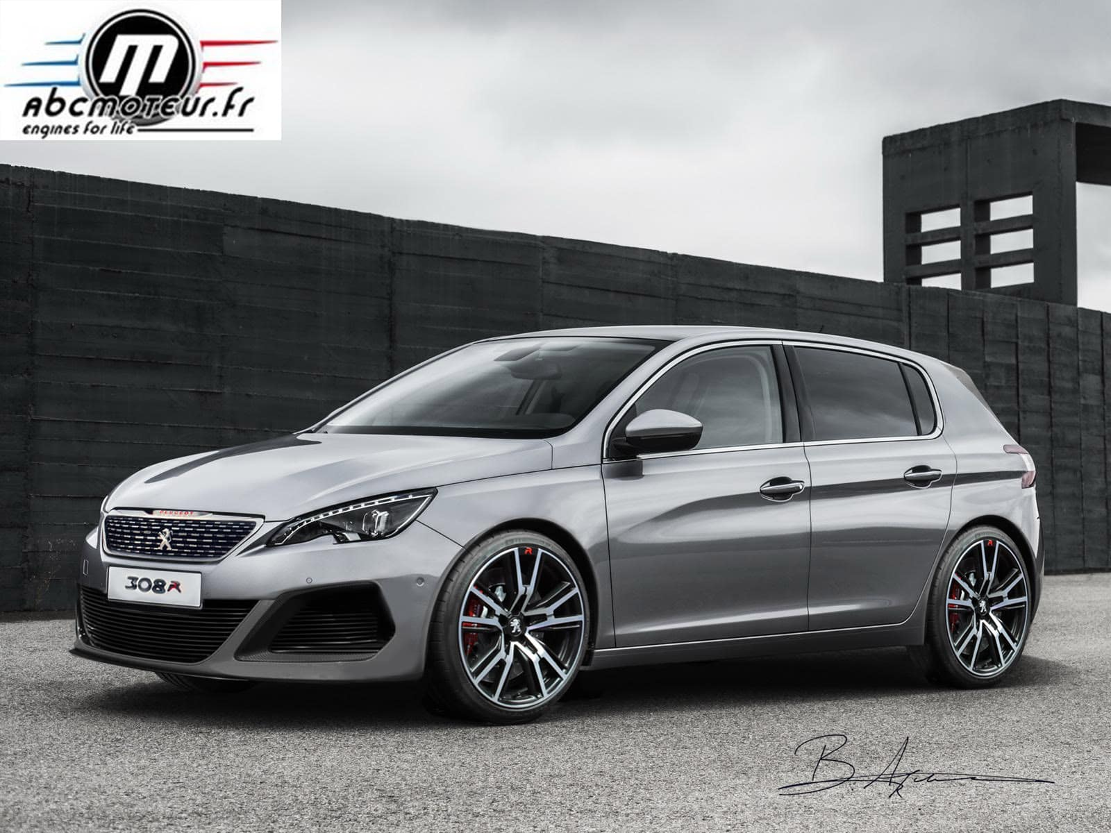 la commercialisation de la peugeot 308 r confirm e. Black Bedroom Furniture Sets. Home Design Ideas