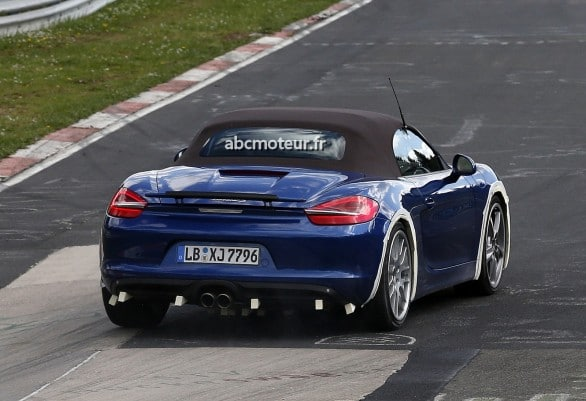 Porsche Boxster 4-cylindres nurburgring