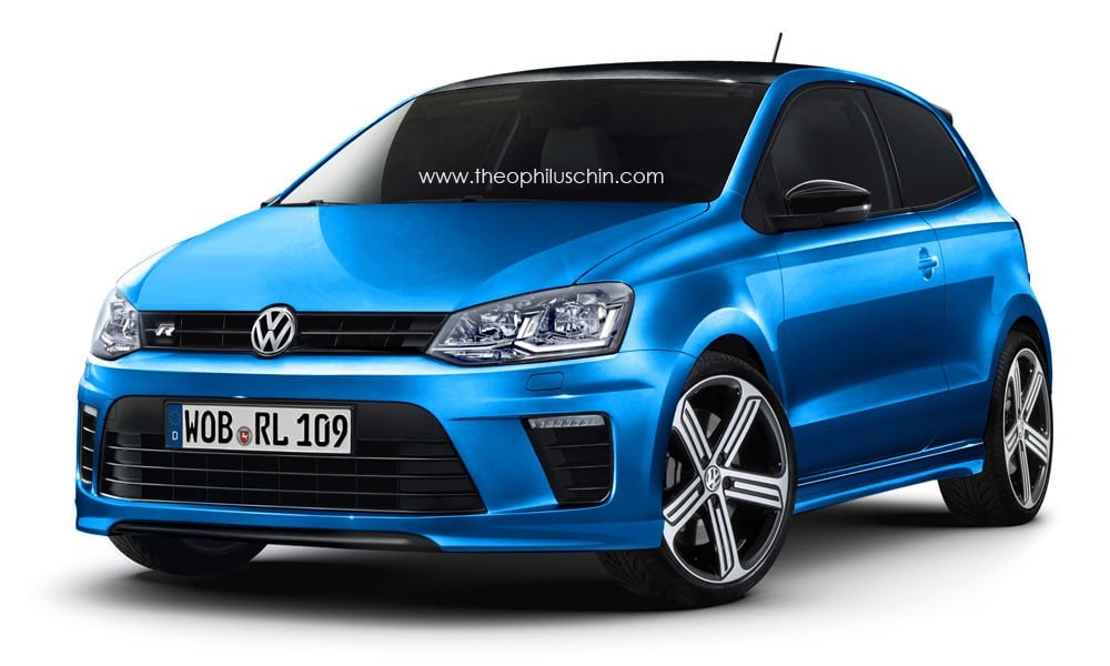 une volkswagen polo r de 230 ch en 2015. Black Bedroom Furniture Sets. Home Design Ideas