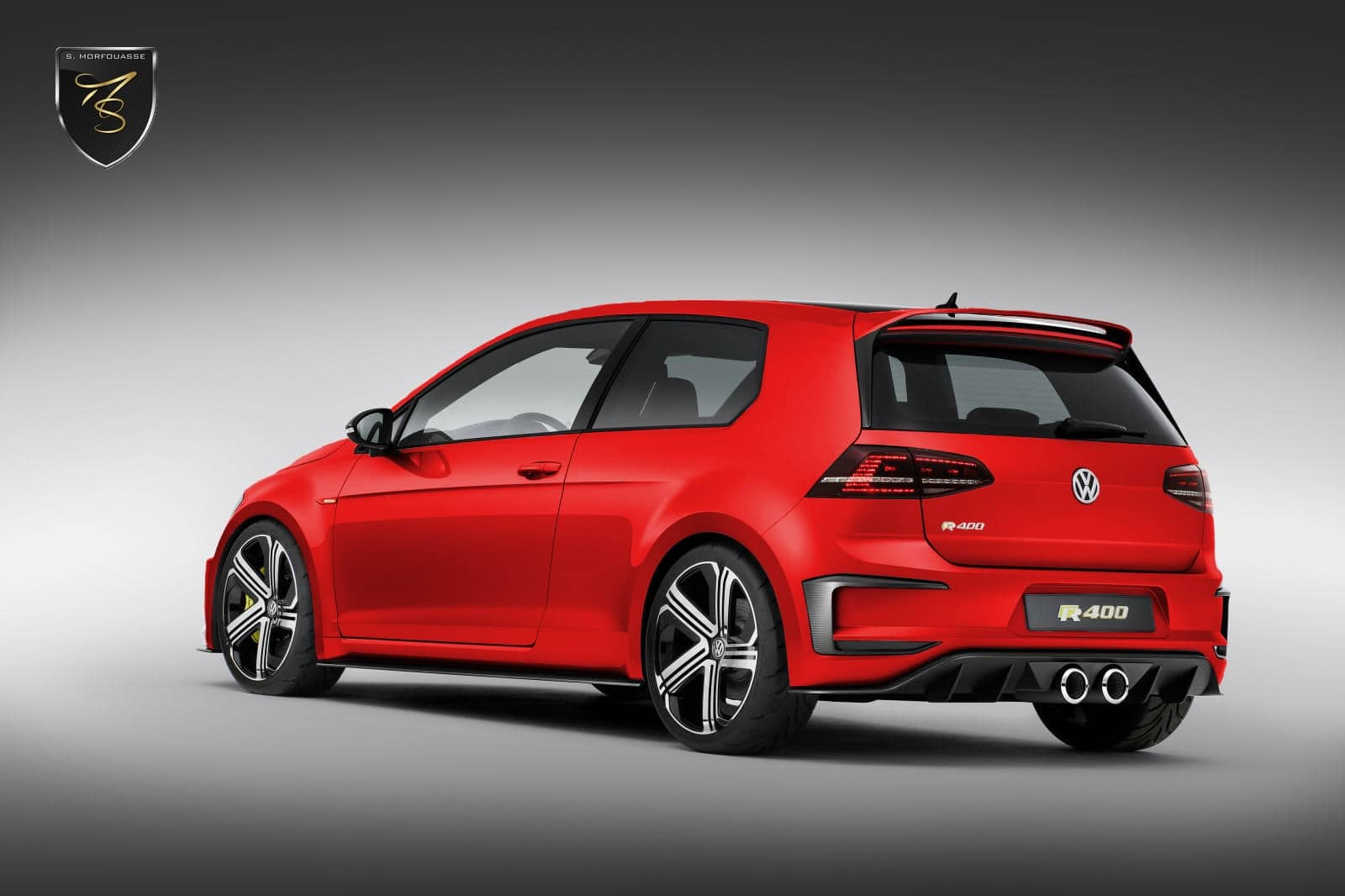 exclusif les tarifs de la vw golf r400 r v l s. Black Bedroom Furniture Sets. Home Design Ideas
