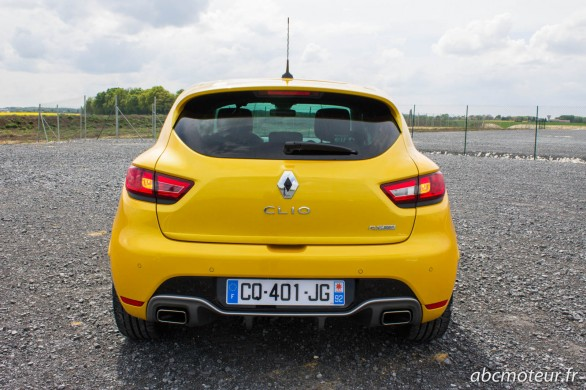 arriere Clio 4 RS
