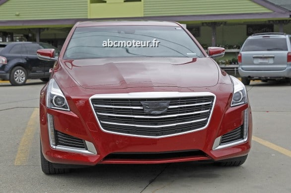 avant Cadillac CTS restylee