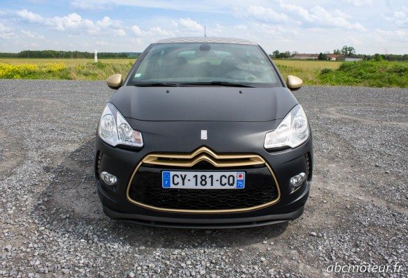 avant DS3 Racing Gold Mat
