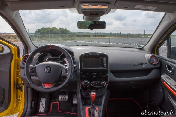 interieur Clio 4 RS