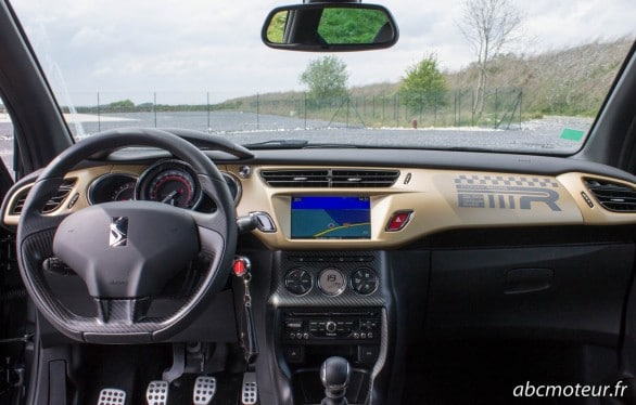 interieur DS3 Racing Gold Mat