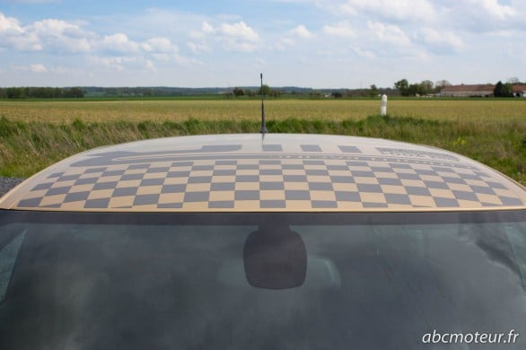 pavillon toit DS3 Racing Gold Mat