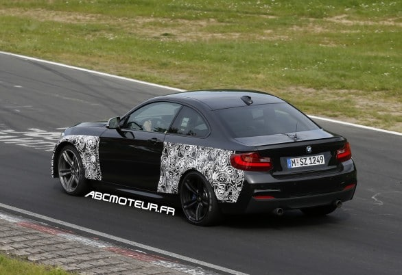 photo espion BMW M2
