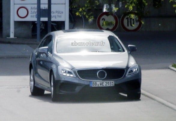 photo volee nouvelle Classe CLS restylee 2014