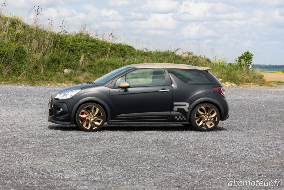 profil DS3 Racing Gold Mat