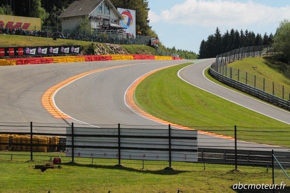raidillon spa francorchamps 2014