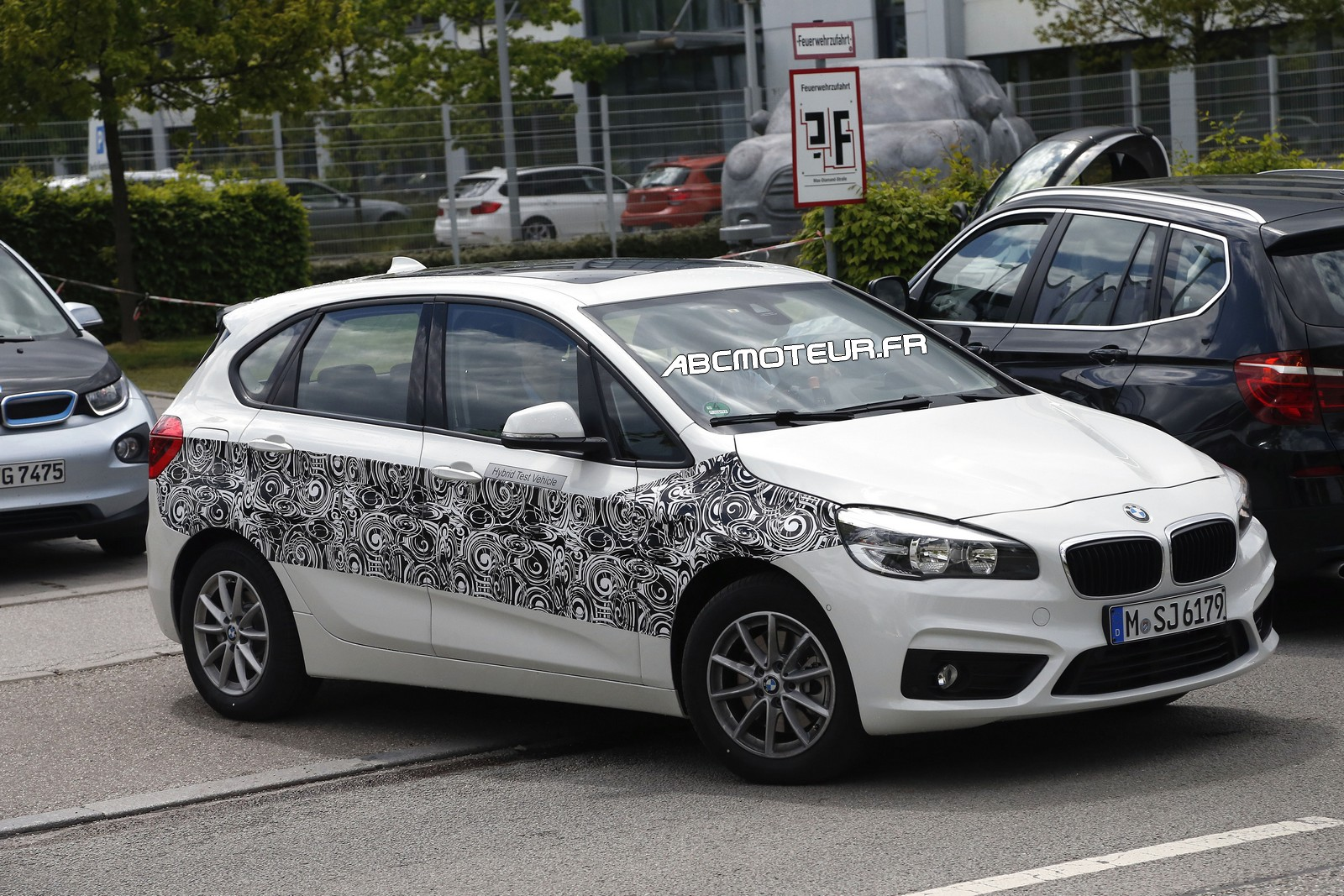 spyshot la bmw s rie 2 active tourer plug in hybrid surprise. Black Bedroom Furniture Sets. Home Design Ideas
