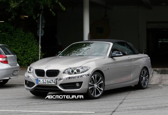spy BMW Serie 2 cab