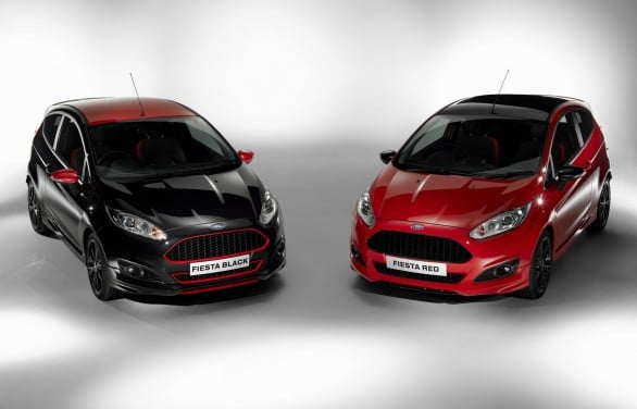 Ford Fiesta Red Edition Black Edition