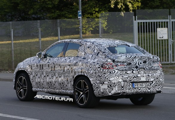 Mercedes SUV Coupe 2015