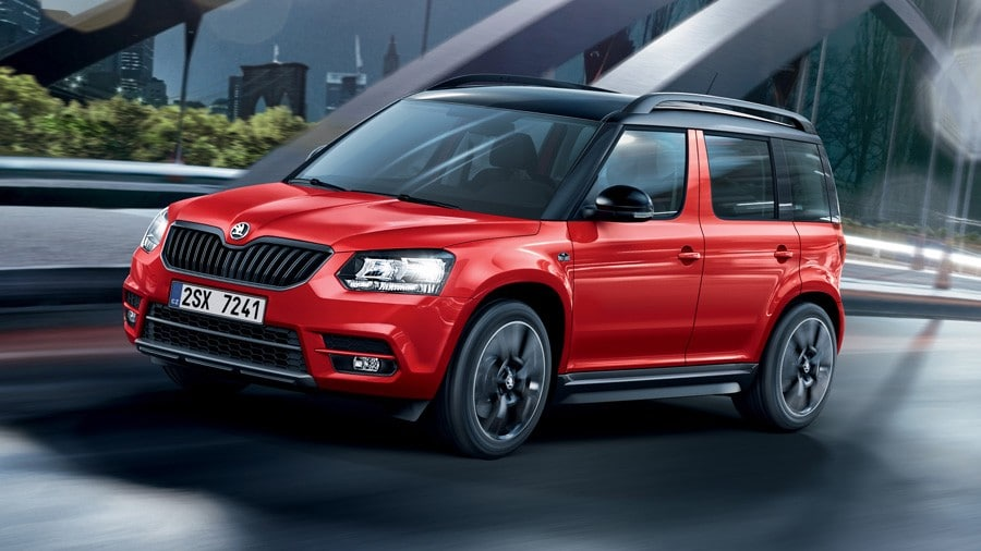 le skoda yeti rejoint la gamme monte carlo. Black Bedroom Furniture Sets. Home Design Ideas