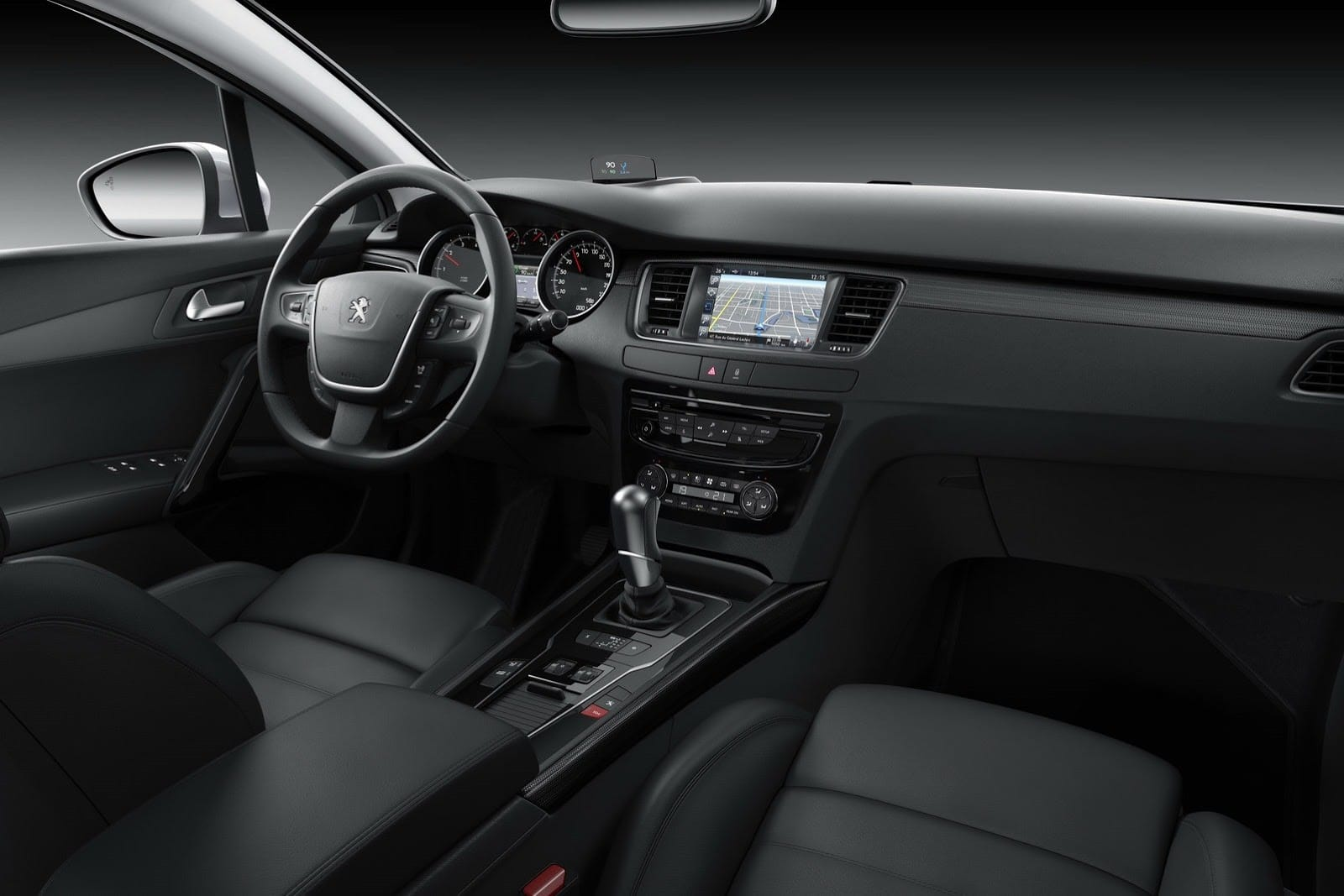 Les photos officielles du restylage de la peugeot 508 2014 for Interieur 508