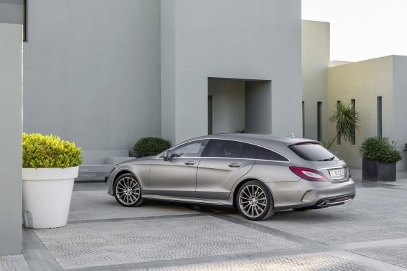 nouvelle CLS shooting brake 2014