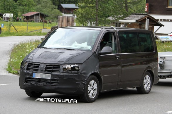 photo volee Volkswagen T6