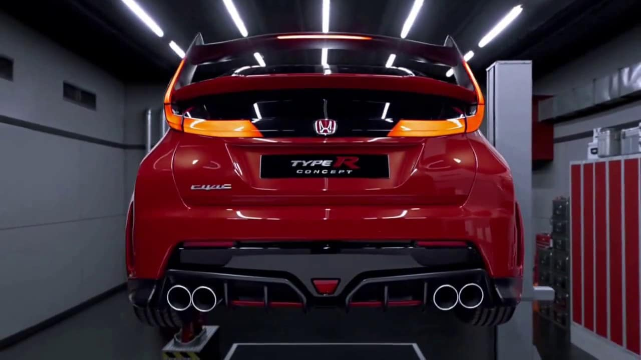 La Honda Civic Type R 2015 veut se faire entendre !