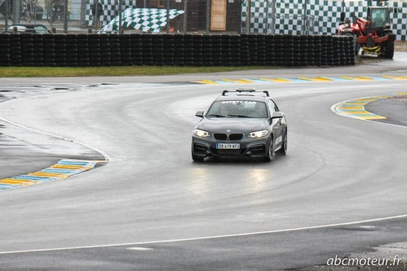 M235i safety car Le Mans Classic 2014