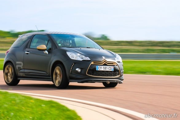 attaque virage DS3 Racing