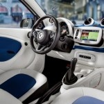 habitacle smart forfour 2014
