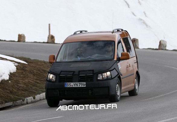 photo volee VW Caddy 2015